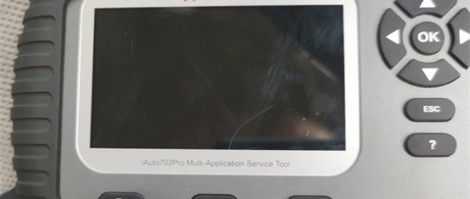 How to Solve Vident iAuto 702 Pro White Screen?