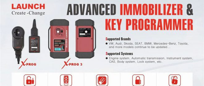 Launch XPROG 3 User Manual: Perform Advanced IMMO& Key Programming with X431 Series Diagnostic Scanners
